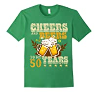 Funny Beer Drinking 1969 T Shirt 50th Birthday Gifts Forest Green