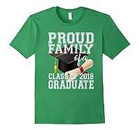 Class Of 2018 Shirt Graduate Graduation Proud Family Forest Green