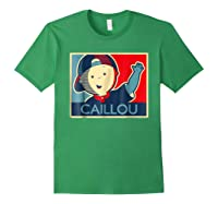 Caillou T Shirt Forest Green