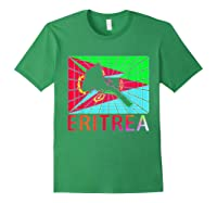 Eritrea Map Eritrean Shirts Forest Green
