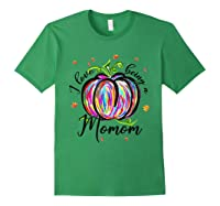 I Love Being A Momom T Shirt T-shirt Forest Green
