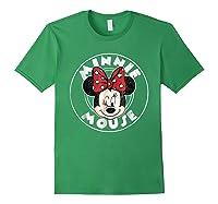 Circle Minnie Shirts Forest Green