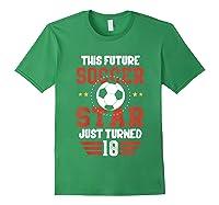 10th Birthday Soccer Birthday Boy Shirts Forest Green