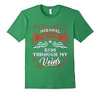 Blood Runs Through My Veins 1t5d Shirts Forest Green