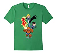 Fantastic Four Shirts Forest Green