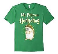 My Patronus Is A Hedgehog Harry Fan Cute Gift Shirts Forest Green