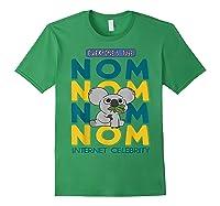 We Bare Bears Nom Nom Everyone's Tube Internet Celebrity Shirts Forest Green