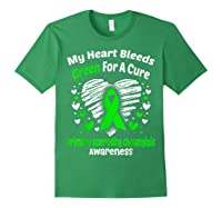 For A Cure Primary Sclerosing Cholangitis Awareness Shirts Forest Green