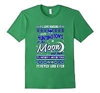 Huntington's Disease Awareness Christmas Shirts Forest Green