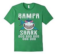 Bampa Shark Doo Doo Shirt - Matching Family Shark Shirts Forest Green