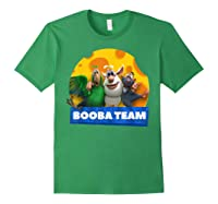Booba Team Friendship Cheese For Girls Birthday Gift Shirts Forest Green