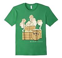 Pixar Bao Weekend Woodblock Feels Graphic Shirts Forest Green