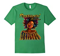 Phenoal Natural Hair Gift For Black Woman Shirts Forest Green