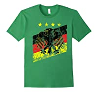 Germany Soccer Style Deutschland 1990 Shirts Forest Green
