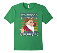 Grumpy You Wanna See Me Act Grumpy Shirts Forest Green