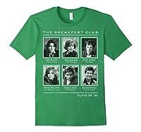 Breakfast Club Year Book Club Photos Graphic Shirts Forest Green