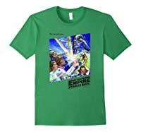 Star Wars The Empire Strikes Back The War Isn\\\'t Over Poster T-shirt Forest Green