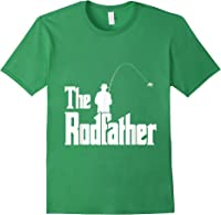 The Rodfather Is On The River This Christmas T-shirt Forest Green