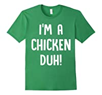 Chicken Halloween Shirt Costume Out Funny Gift Boy Girl Forest Green