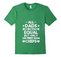 Chef Cooking Funny Culinary Chefs Dad Gifts T Shirt Forest Green