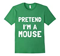 Mouse Halloween Costume Funny Gift Shirts Forest Green