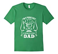 Chef Cooking Funny Culinary Chefs Dad Fathers Day Gifts Tank Top Shirts Forest Green