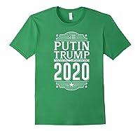 Resist Russian Putin Impeach President Putin Trump 2020 Premium T Shirt Forest Green