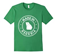 Made In Georgia Vintage State Pride Usa Shirts Forest Green