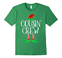Cousin Crew Elf Gift Family Matching Christmas Ugly Shirts Forest Green