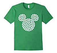 Disney Mickey Mouse Shamrocks St Patrick S Day T Shirt Forest Green