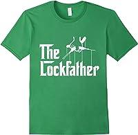 Locksmith - Lockfather T-shirt Forest Green