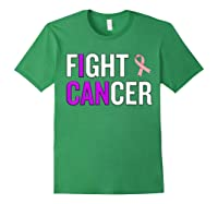 Breast Cancer Month Awareness Gift For Survivors Warriors T Shirt Forest Green