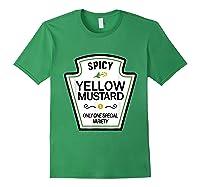 Mustard Condits Group Halloween Costumes T-shirt T-shirt Forest Green