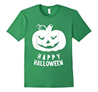 Funny Happy Halloween Costumes Scary Spooky Pumpkin Costume Shirts Forest Green