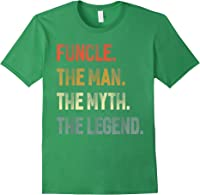 Funcle The Man The Myth The Legend Uncle Father Day Gift T-shirt Forest Green