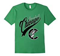 Chicago Baseball Shirts Forest Green