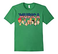 Funny Political Humor Murica Trump Hillary Great Election T Shirt Forest Green