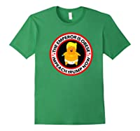Deranged Donald The Emperor Is Obese Impeach Trump Now Premium T Shirt Forest Green