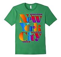 New York City T Shirt Urban Nyc Fashion Style T Shirt Nyc T Shirt Forest Green