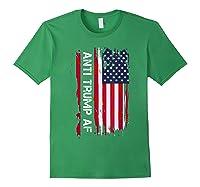 Anti Trump Impeach The 45th President T Shirt Forest Green