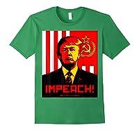 Trump Protest Resist Impeach Russia Propaganda Shirt Forest Green