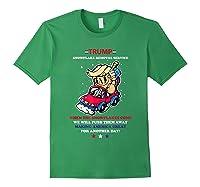Pro Donald Trump 2020 Election Snowflake Anti Sjw Shirts Forest Green