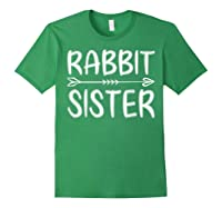 Cute Rabbit Sister Shirt I M Going To Be A Sister T Shirt Forest Green
