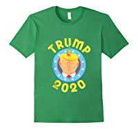 Funny Unicrontrump 2020 Election Usa Flag Republican Gift Tank Top Shirts Forest Green