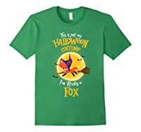 I'm Really A Fox, I'm Really A Fox Shirts Forest Green