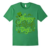 Happy St Patrick S Day T Shirt Funny Saint Patricks Gifts Forest Green