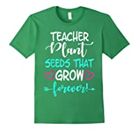 Teas Inspirational Quote School Teas Mm Shirts Forest Green