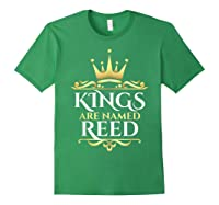 Kings Are Named Reed Shirts Forest Green