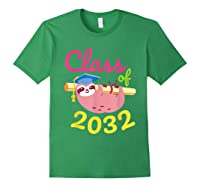 Kindergarten First Day Back To School Girl Shirts Forest Green