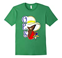 Masonic Store: Oes Order Of The Eastern Star Labor Day Gift T-shirt Forest Green